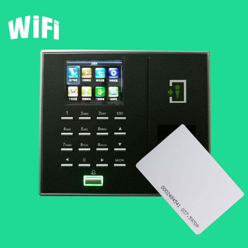 F2S Fingerprint Door Controller Wiegand Tcp/Ip Access Control System RFID Card Fingerprint Door Lock With Wifi Function optional spanish arabic biometric fingerprint door access control tcp ip wiegand f19 fingerprint door security controller