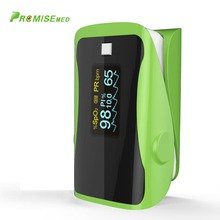 PRCMISEMED Household Health Monitors Pulsioximetro Oximeter Monitor Pulsioximetro OLED Heart Rate SPO2 Pulse Oximeter-Green