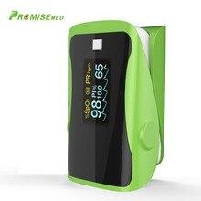 PRCMISEMED Household Health Monitors Pulsioximetro Oximeter Monitor Pulsioximetro OLED Heart Rate SPO2 Pulse Oximeter-Green