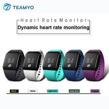 Teamyo A88 Новое поступление Smart Band Напульсники фитнес-трекер часы измерять кровяное давление умный Браслет Носимых устройств с OLED