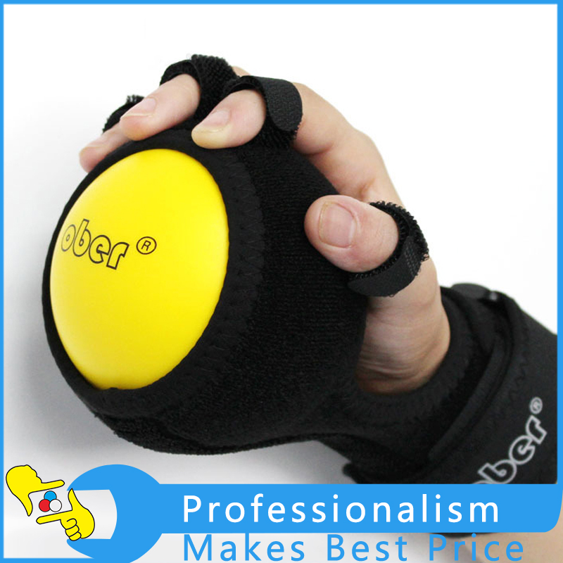 Finger Device Finger Wrist Hand Orthosis With Ball stroke hemiplegia rehabilitation Training Equipment upper lower limbs physiotherapy rehabilitation exercise therapy bike for serious hemiplegia apoplexy stroke patient lying in bed