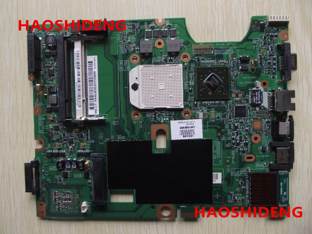 Free Shipping 498460-001 for HP Pavilion CQ50 CQ60 G50 G60 series  motherboard .All functions 100% fully Tested !  free shipping 595764 001 kaq00 la 4951p for hp elitebook 8540p 8540w series laptop motherboard all functions 100