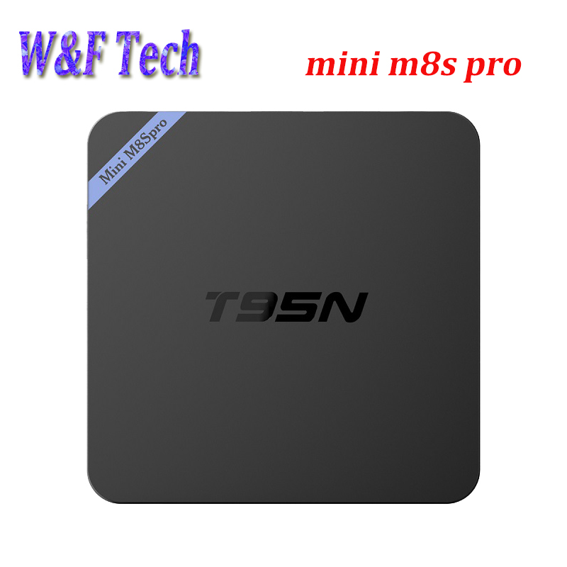 Prix pour 10 PCS T95N Android TV Box Quad Core Amlogic S905X UHD 4 K Smart TV Box Set-top box Android 6.0 Mini M8S PRo 2 GB 8 GB