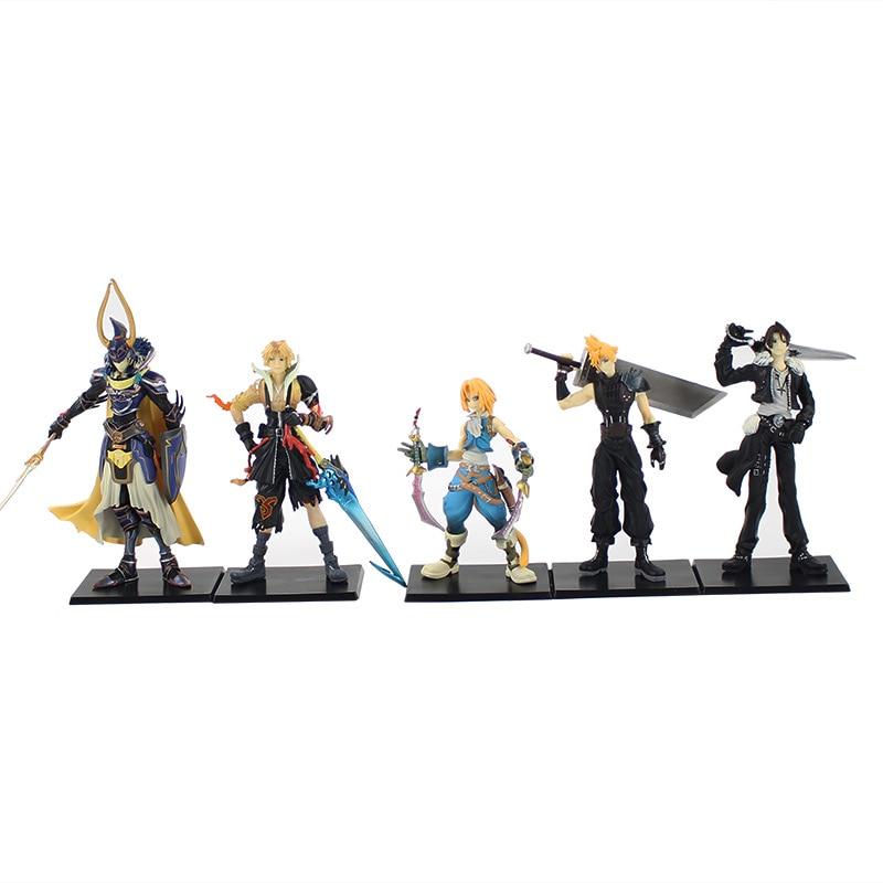 5 Pcs Set Final Fantasy Tokoh Toys Karakter Ff Polos Menentukan 1st Pvc Aksi Angka Model Koleksi Mainan Hadiah Aliexpress