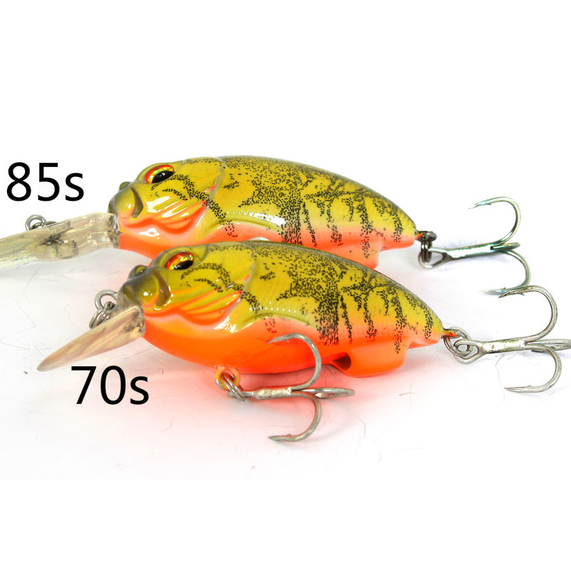 Fishing Lure Crankbait Artificial wobbler hard Bait 13g For Bass Tilapia Fish Strengthen Blood Groove wldslure 1pc 54g minnow sea fishing crankbait bass hard bait tuna lures wobbler trolling lure treble hook