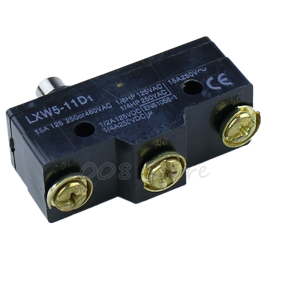 Switches Devoted 2015 Hot New Ac 250v 15a Low-force Hinge Lever Momentary Micro Switch Microswitch Lighting Accessories