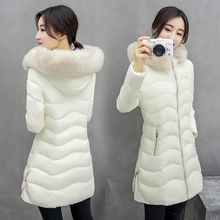 Womens Winter Jackets And Coats 2016 Thick Warm Hooded Down Cotton Padded Parkas For Women's Winter Jacket Female JN933