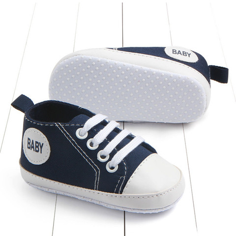 New Canvas Classic Sports Sneakers Newborn Baby Boys Girls First Walkers Shoes Baby Shoes Breathable Canvas Shoes Islamabad