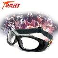 Panlees 2016 Nueva Negro Color de Protección Goggle Baloncesto Racquetball Segura de la Correa Gafas de Prescripción Óptica Lente gafas de Sol
