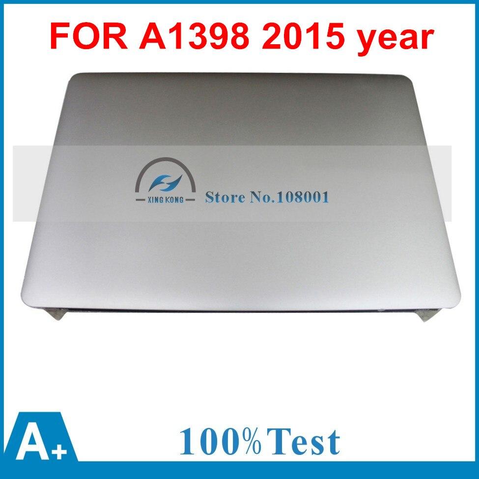 98% Nouveau LCD Full Assemblée D'affichage de L'écran pour Apple Macbook Pro Retina 15 ''A1398 Mi 2015 EMC 2909 MJLT2 MJLQ2LL/Un MJLU2D/Un