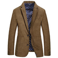 Top Leisure Casual Solid Color Coats Men's Loose Blazer Suit Autumn Cotton Jackets Chaqueta Coat Jacket Tops Outer Male Blazers