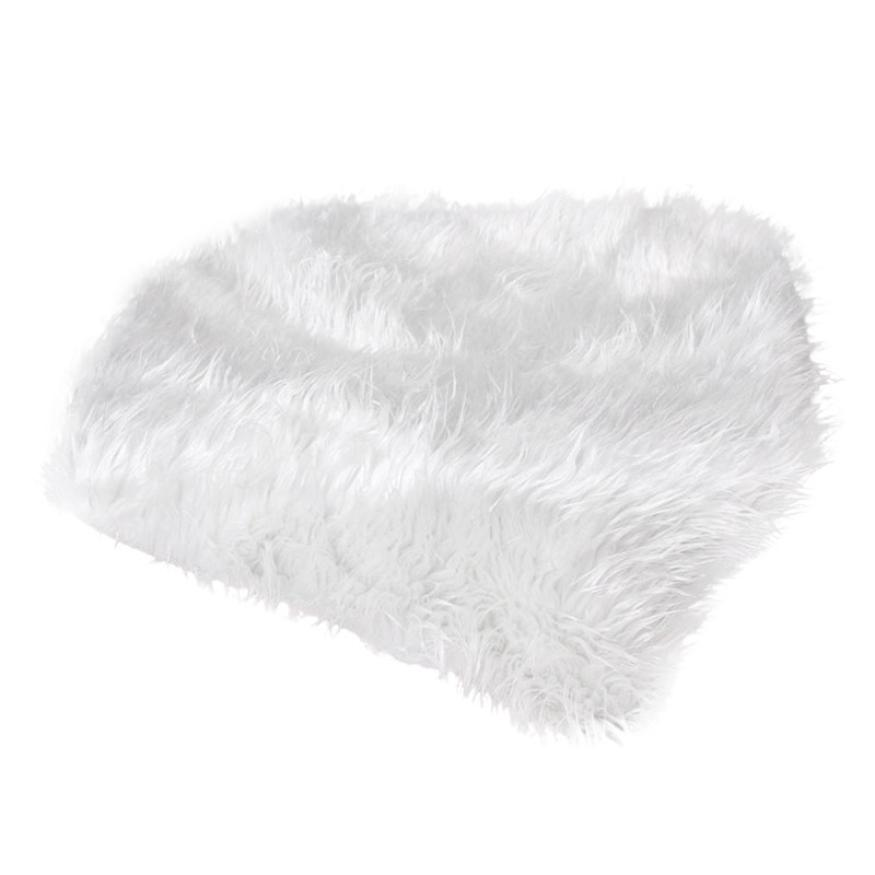 Blanket 2017 Newborn Photography Props Faux Fur Stuffe Background Baby Photo Soft Blanket D50