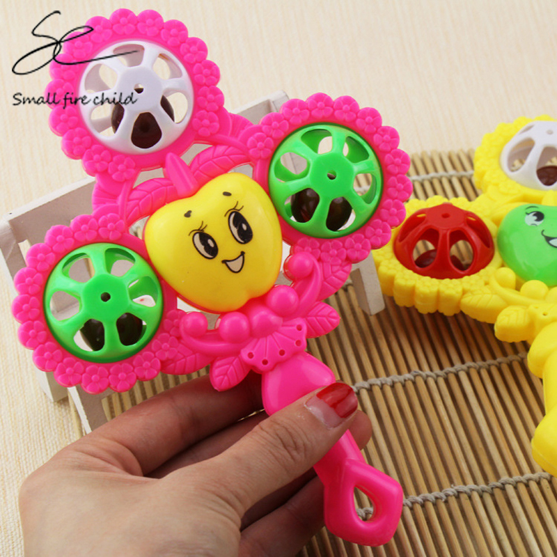 Hot Baby Toys Hand Drum Beat Rattles Educational Kids Toys Children Rattle For Newborn Baby Gift Wholesale