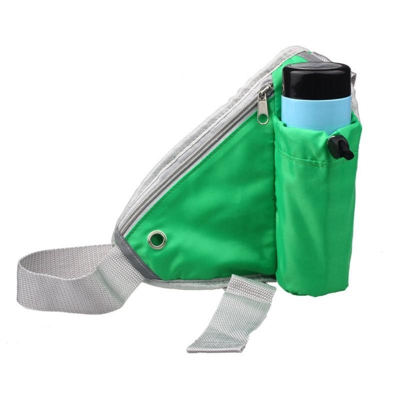 Newly Unisex Waist Fitness Bag Bicycle Exercise Running Triangle Pocket Water Bottle Pocket Bisiklet Fitness Bag Sports Bag