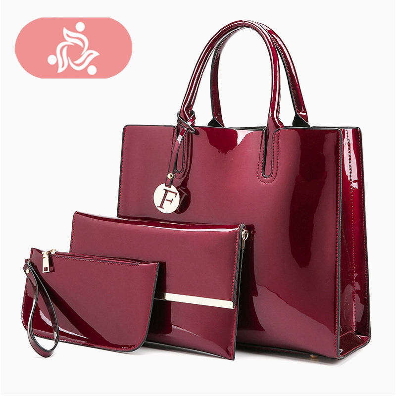 High Quality Female Messenger Bags Patent Bolsa Leather Luxury Handbags Women Bags Designer 2018 Sac A Main Ladies Shoulder Bag 2018 high quality patent leather women bag ladies cross body messenger shoulder bags handbags women famous brands bolsa feminina