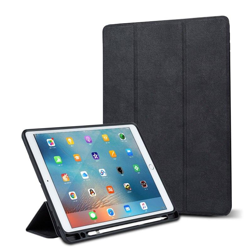 Ipad Pro 12.9 Case with Pencil Holder Smart Flip Case 15