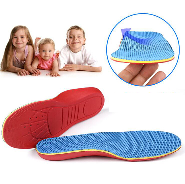 Free shipping 200pair/lot Kid Orthotic Orthotics Orthopedic Insoles Foot Care Flat Foot Arch Support Shoe Insoles Pads Flatfeet expfoot orthotic arch support shoe pad orthopedic insoles pu insoles for shoes breathable foot pads massage sport insole 045