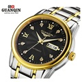 Original GUANQIN Watches Men Watch Luxury Top Brand Fashion Men's Big Dial Designer Mechanical Automatic Watch Relogio Masculino