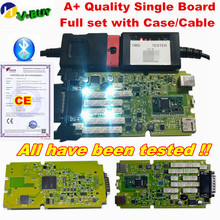 Новейший OBDIICAT TCS желтый зеленый одноплатный+ Универсальный 3в1 OBDIICAT-150 TCS новые реле bluetooth,00 сканер диагностический инструмент