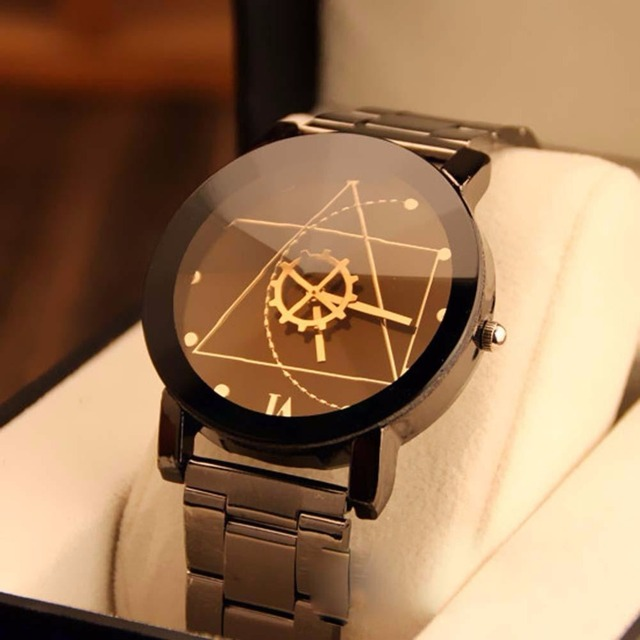 NEW High quality Black Luxury Womens Compass High quality