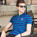 Troilus High quality Men Polo Shirt Fashion Summer New Brand Short Sleeve Striped Polo Business Casual Men's Solid Polo Shirts