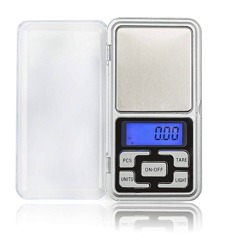 Mini Pocket Digital Scale For Gold Sterling Silver Jewelry Balance Gram Electronic Scales 200g/500g Balance 0.01 Accuracy