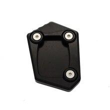 Мотоцикла с ЧПУ подножка сбоку пластина для подножки Pad увеличить расширение Поддержка для Honda CB500F CB500X CB/CB650F CBR250 CBR300 CBR500