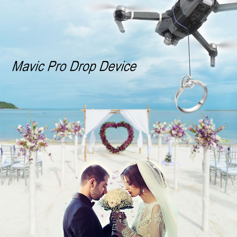 Shinkichon Pelter Fish Bait Advertising Ring Thrower for Fishing Publicity Propose for DJI Mavic Pro Platinum