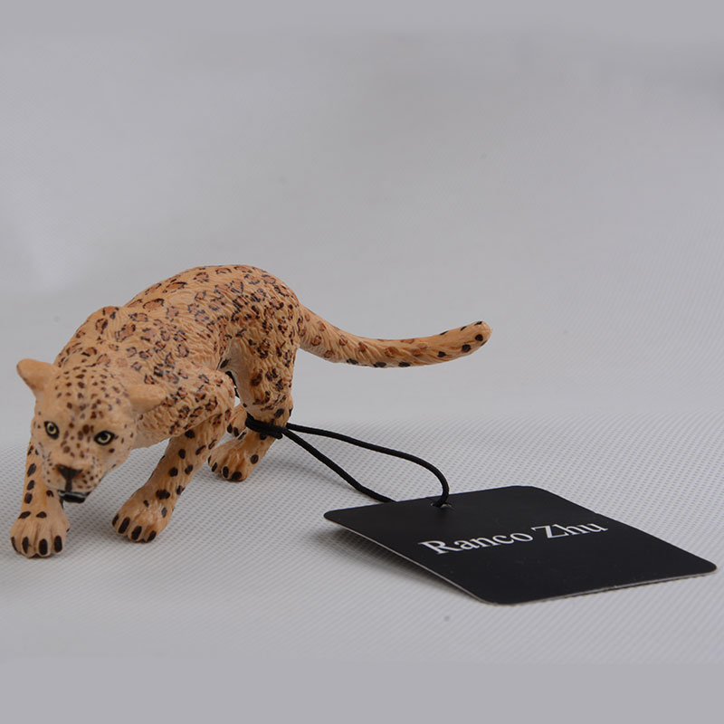 Panther-Figure Early-Education Children Animals for And Play with Gift-Box Ranco Zhu