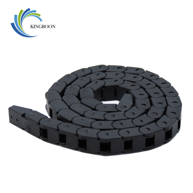 Hot Transmission Drag Chains 3D Printers Parts 7mm*7mm 10mm*10 Mm Plastic Towline Part 1M Cable Router Engraving Cutting Machine