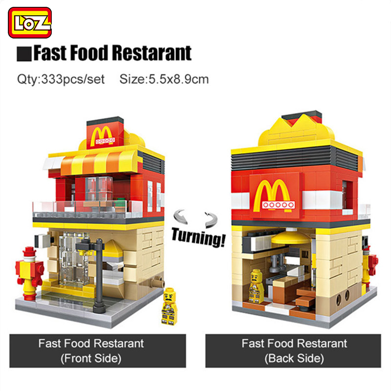 Back To Search Resultstoys & Hobbies Punctual Mini Fast Mart Store Compatible Legoing City Architecture Street View Model Building Blocks Toys For Children Legoings Juguetes Fast Color Blocks