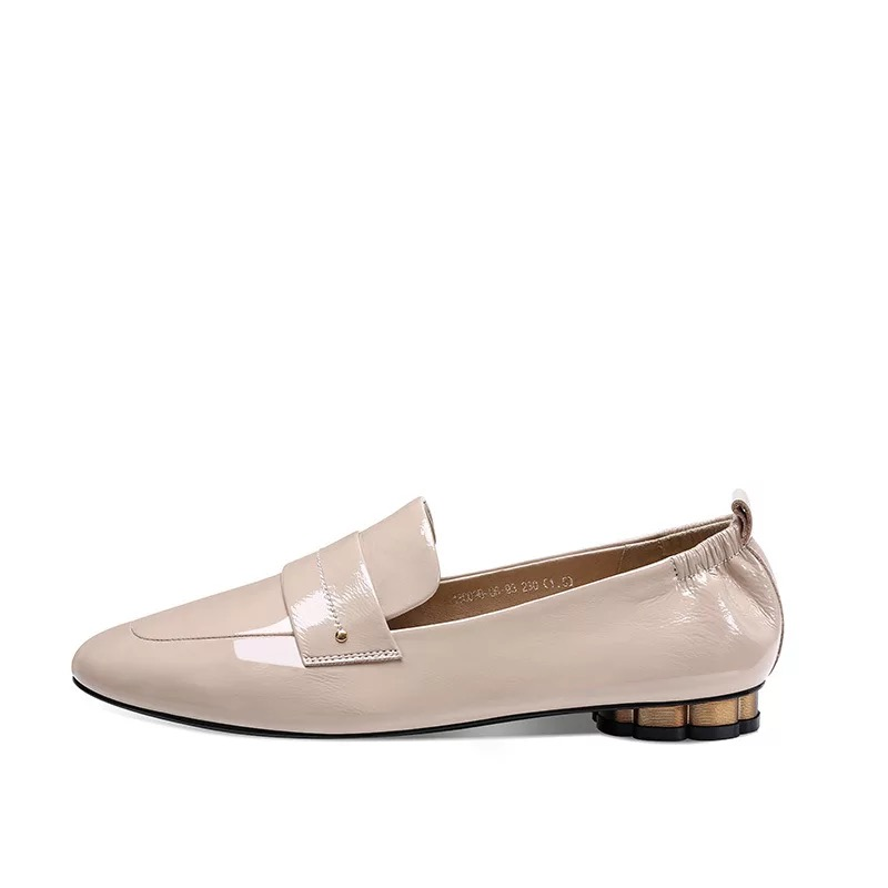 Stkehidba 2019 New Women s Shoes Genuine Leather Hot Sell Shoes Round Toe Ladies Flat Shoes