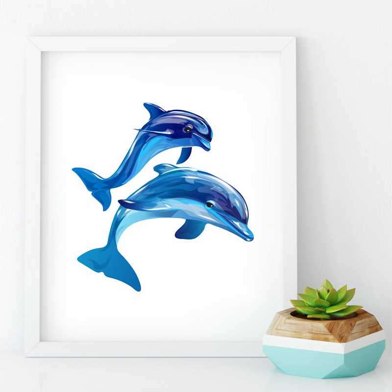Dolphin Bathroom Wall Decor Iron Blog