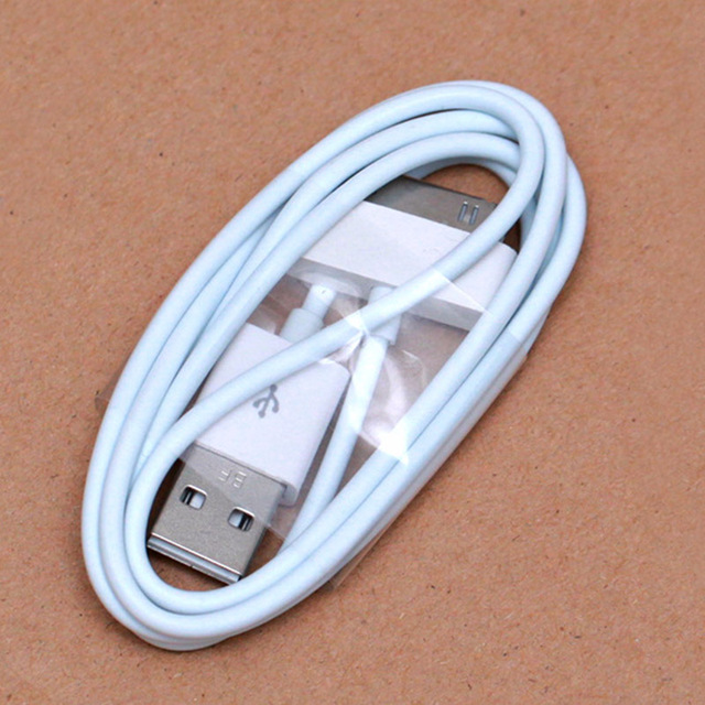 High Quality Data Sync Fast Charging USB Cable Mobile Phone charger for Iphone 4 4s Ipad 1/2/3/mini Ipod Charging Adapter Cable