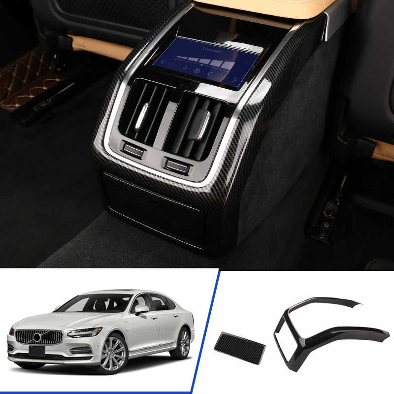 Volvo S90 Interior >> For Volvo S90 2017 2018 2019 Abs Interior Car Stying