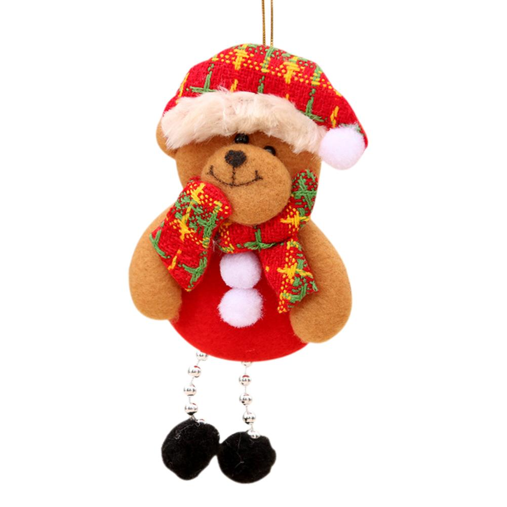 Christmas Decoration Santa Claus Ornaments Christmas Tree Decorations Christmas Festival Supplies Christmas Decorations For Home