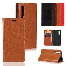 LUCKBUY For Funda Huawei P30 P 30 Pro Case Genuine Leather Luxury Phone Cases PRO Slim Business Style Book