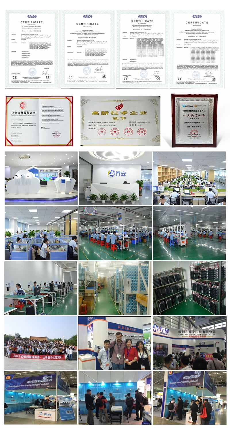 Jooan Camera certification company