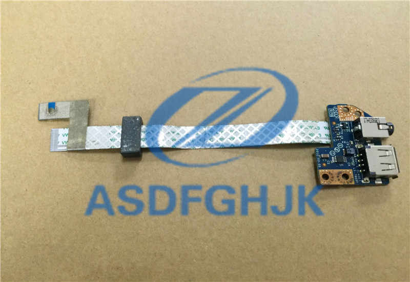 Asli Untuk Dell Latitude E5430 E5530 USB Port Audio Papan LS-7905P 8 DVRJ CN-08DVRJ