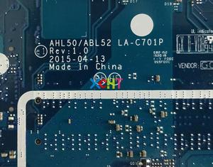 Image 5 - HP 15 AC Serisi 15T AC100 828179 501 828179 001 828179 601 AHL50/ABL52 LA C701P Laptop Anakart anakart Test