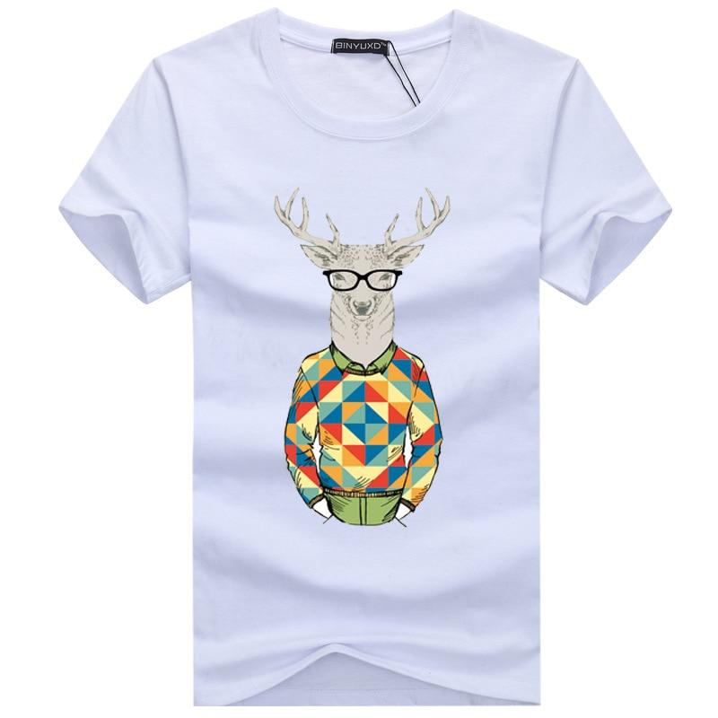 2017 New Mens High Quality Tshirt Pattern Prin Design T