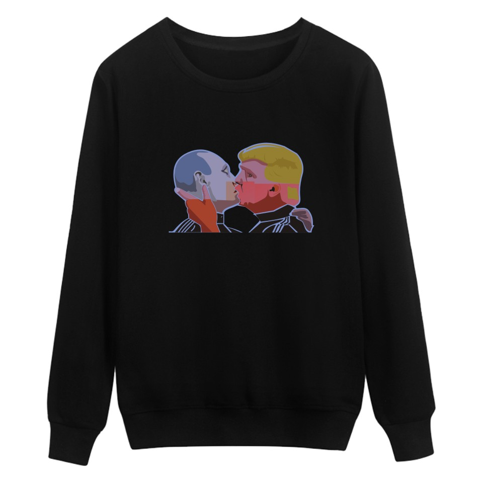 New Donald Trump President Sweatshirt Men Hip Hop Winter Autumn Warm Putin Mens Hoodies and Sweatshirts 4xl XXS