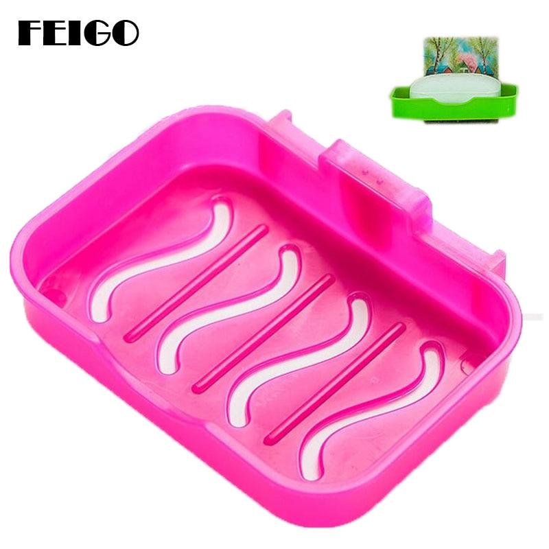 FEIGO držalo za sesalce Močno držalo za milo / škatla z milom / - Gospodinjski izdelki