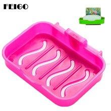 FEIGO 빨판 홀더 튼튼한 비누 홀더 / 비누 상자 / 비누 접시 / 비누 케이스 모던 욕실 세면 용품 주방 싱크 드레인 보관 F27