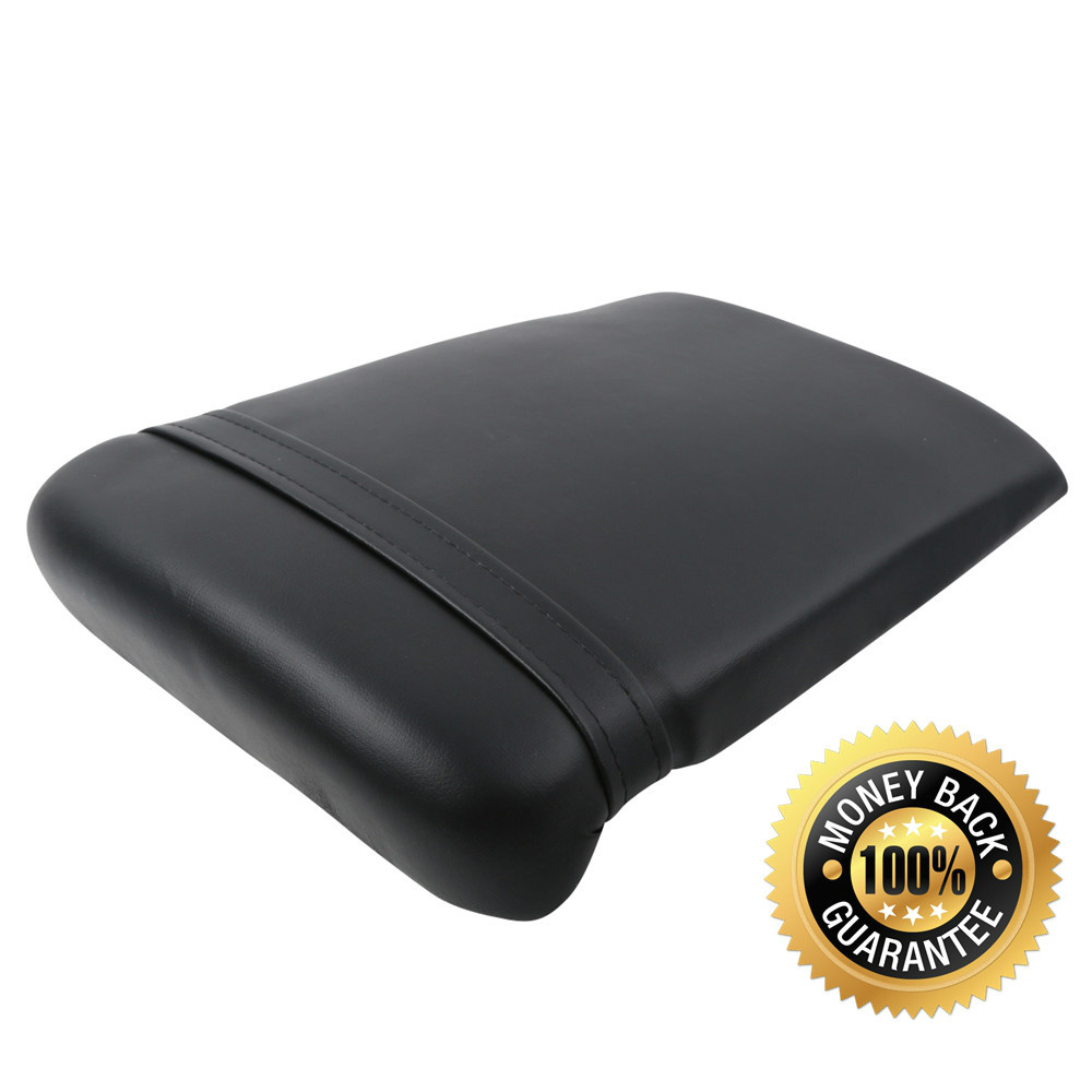 For YAMAHA YZF R1 1998 1999 98 99 Motorcycle Synthetic Leather Passenger Rear Back Seat Cover Cushion Pillion