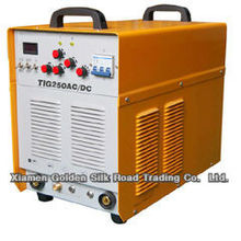 TIG250P ACDC inverter welding machines can weld aluminum workpiece