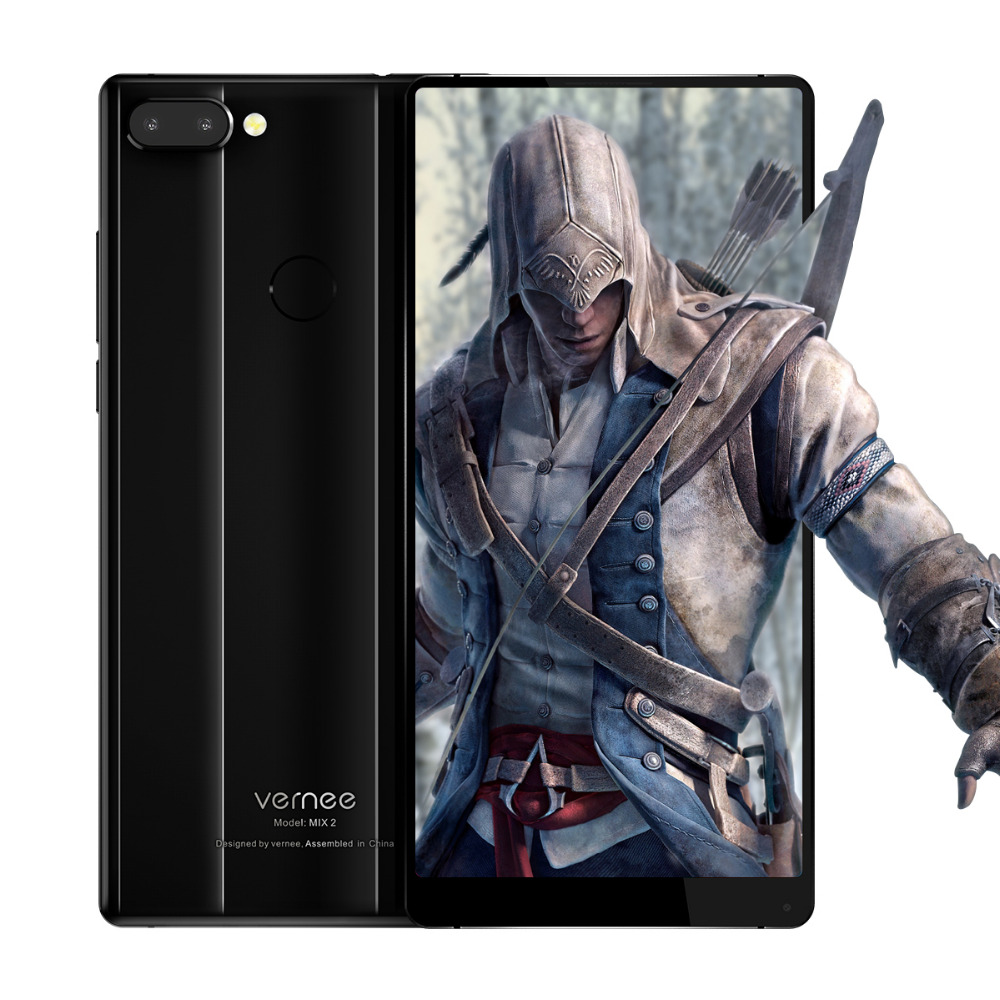 Original Vernee Mix 2 4G LTE Mobile Phone 6Inch 4GB RAM 64G ROM Octa Core Android