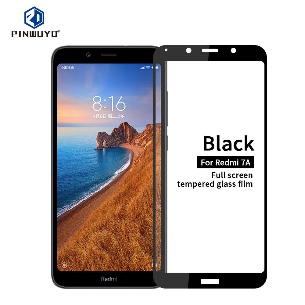 For Xiaomi Redmi 7A Tempered Glass Full Screen Coverage Tempered Glass Screen Protector Full Protective For Xiaomi Redmi 7A|Phone Screen Protectors| |  - title=