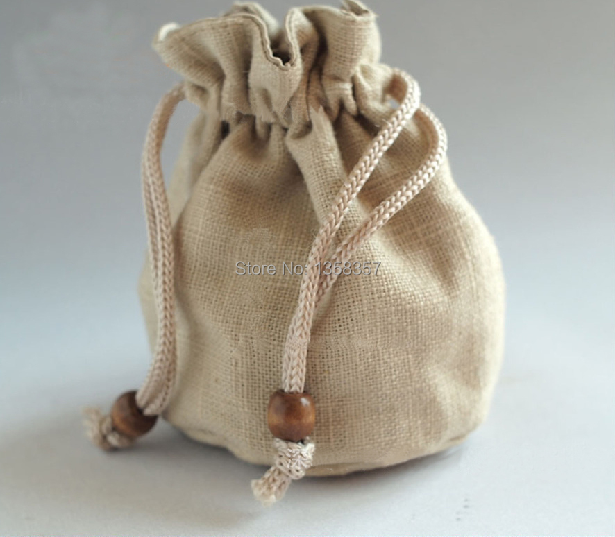 high quality Rounding Bottom linen drawstring bags cheap jewelry bags  wholesale small gift bag s for gift packaging and storage-in Jewelry  Packaging ... 7cb14896f