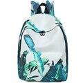 2015 Korean Fashion Women Backpack Printing Many Patterns Backpack School Bags For Teenagers Waterproof Nylon Men's Backpack Bag